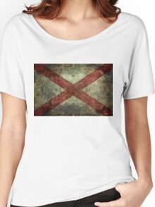 Alabama state flag Women's Relaxed Fit T-Shirt