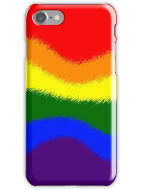 Smartphone Case - Rainbow Flag 8 by Mark Podger