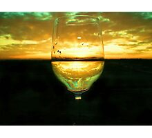 Wine Inversion Photographic Print