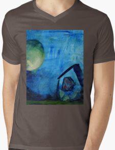 blue house Mens V-Neck T-Shirt