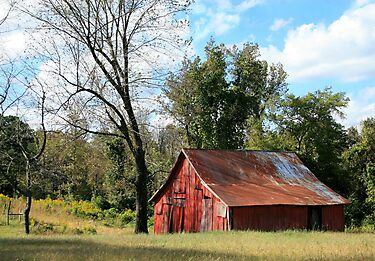 Ebenezer Barn by Lisa G. Putman