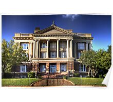 Anderson County Courthouse Poster