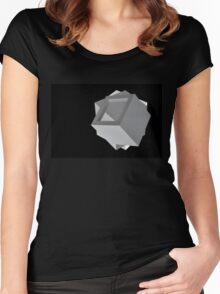 Boxes Women's Fitted Scoop T-Shirt
