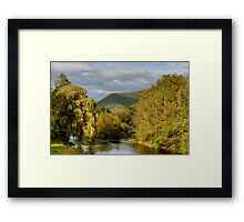 Autumn Evening Along Trout Run Creek Framed Print