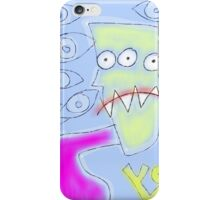 """""""Michael Carlton, the Three Eyed Soda Jerk, Feels Like He's Being Watched"""" by Richard F. Yates iPhone Case/Skin"""