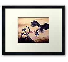 Freedom's Battle Framed Print