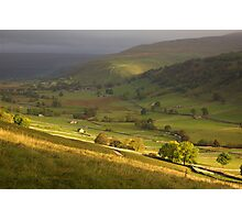 Up Dale to Starbotton Photographic Print
