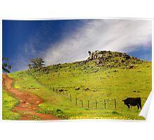 More of rural Western Australia Poster