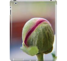 Bud of a Peony/Pfingstrosen iPad Case/Skin