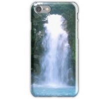 Rio Celeste (blue river) Waterfall iPhone Case/Skin