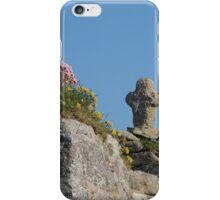 Cape Cornwall chapel iPhone Case/Skin