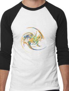 Fractaloptapopisaurus Men's Baseball ¾ T-Shirt