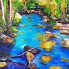 Pulsating with energy (The Creek) by Ciska