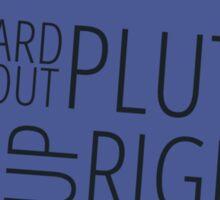 Pluto Sticker