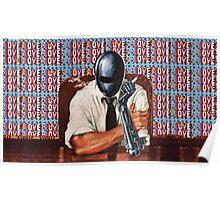 Retro-Robot Love Poster