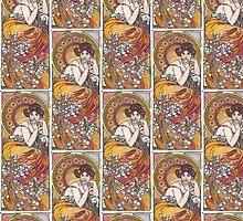 Alphonse Mucha, more 2 by bellandthebeast