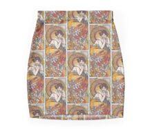 Alphonse Mucha, more 2 Mini Skirt