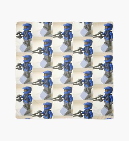 Blue Spartan Soldier Custom Minifig Scarf
