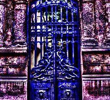Mystical Door Fine Art Print by stockfineart