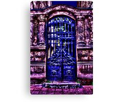 Mystical Door Fine Art Print Canvas Print