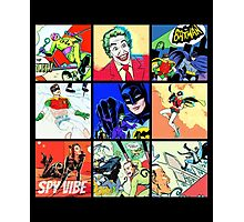 Batman - All Characters and Enemies Photographic Print