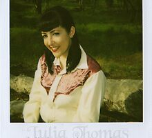 Gemma Vendetta Goes Country polaroid #2 by Julia  Thomas