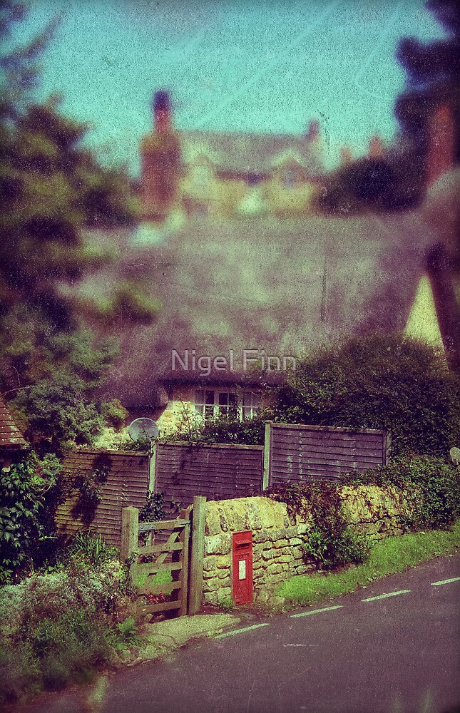 The Old Postbox by Nigel Finn