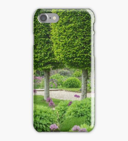 Avenue of topiary iPhone Case/Skin