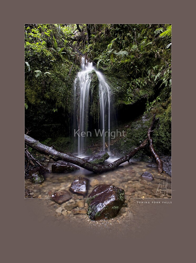 Tuning Fork Falls by Ken Wright