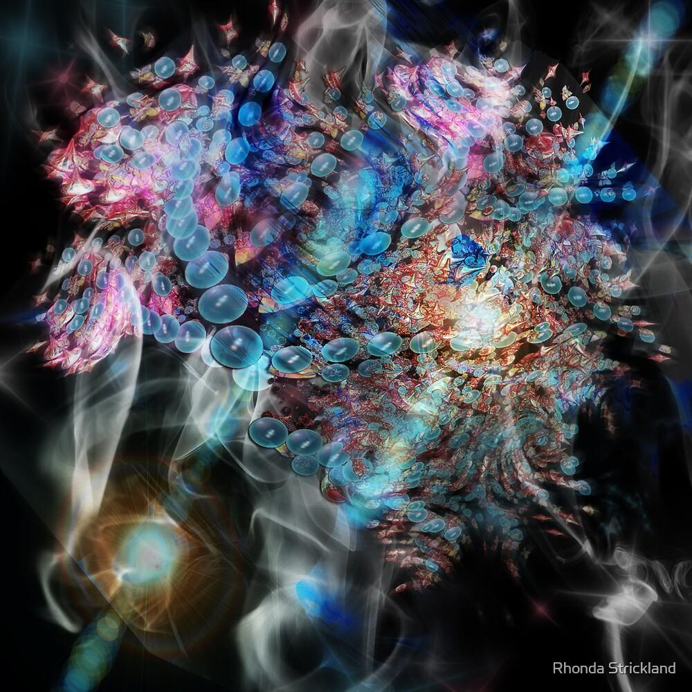 New Visions (Swarm Clouds) - Image & Poem by Rhonda Strickland