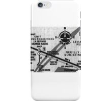 Paris Metro. iPhone Case/Skin