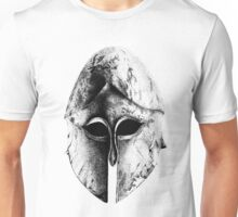 Greek Helm in Pen and Ink Unisex T-Shirt