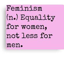 Feminism Canvas Print