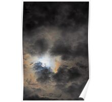 Moody Sky with Clouds Poster