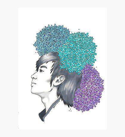 I am your FLOWER BOYFRIEND || Minwoo Photographic Print