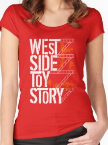 West Side Toy Story Women's Fitted Scoop T-Shirt