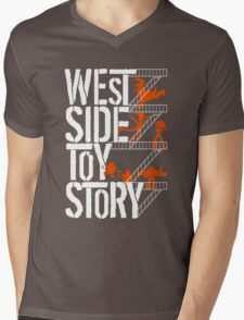 West Side Toy Story Mens V-Neck T-Shirt