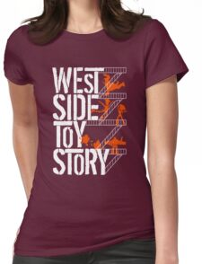 West Side Toy Story Womens Fitted T-Shirt