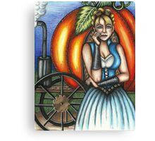 Steampunk Cinderella Canvas Print
