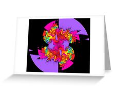 Fractal Fantasia Greeting Card