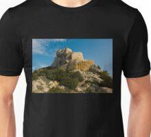 Quéribus castle (Château de Quéribus) Unisex T-Shirt