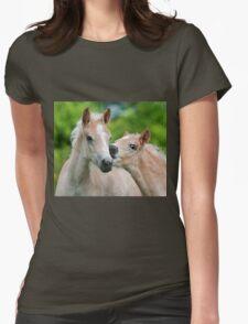Cuddling Haflinger foals T-Shirt