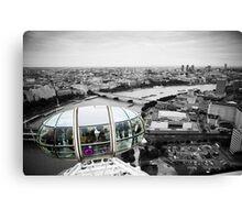 The Eye-Pod: London Eye. Southbank London. UK. Canvas Print