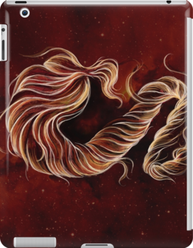 Ribbons of Flame by Barbora  Urbankova