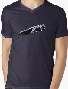 Mass Effect Alliance Cruiser Mens V-Neck T-Shirt
