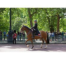 Police officer on horseback at the State Opening Of Parliament London Photographic Print