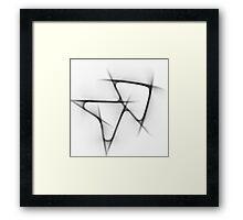 Abstract Arrows Framed Print