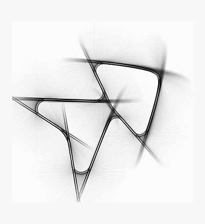 Abstract Arrows Photographic Print