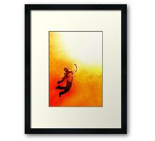 White Light Framed Print