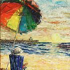 Umbrella Sunrise by Janis Lee Colon